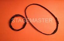 Elingue ronde textile cable acier